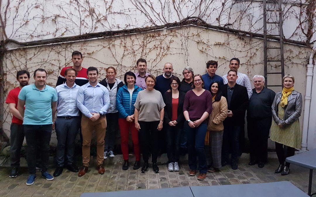 2. Internationales Projekttreffen des EuPEO Erasmus+Forschungsprojekts in Paris vom 22.-24.03.2019