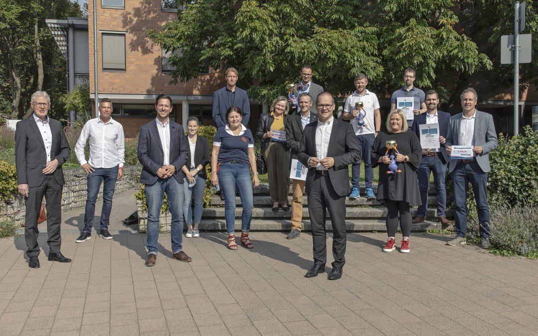 Verleihung des 1. Niedersächsischen Schulsportpreises des DSLV